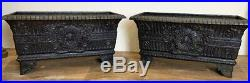 Large Pair Of 19th Century French Garden Jardiniere Planters