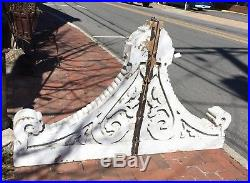 Large Pair of Wood Corbels Architectural Salvage