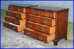 Pair MID Century Large Nightstands/ Bachelors Chests