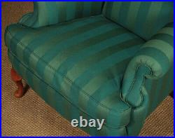 Pair of Large Wingback Armchairs