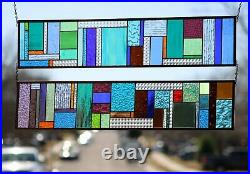 Radiant Colors Sidelights (pair each 34 5/8x 7/12) Transom